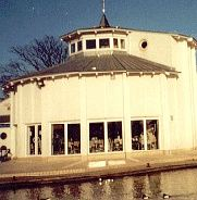 The discovery center, the boating lake